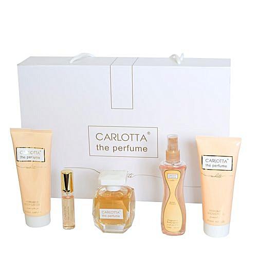 Carlotta Coffret Carlotta The Perfume Pour Femmes à Prix Pas Cher