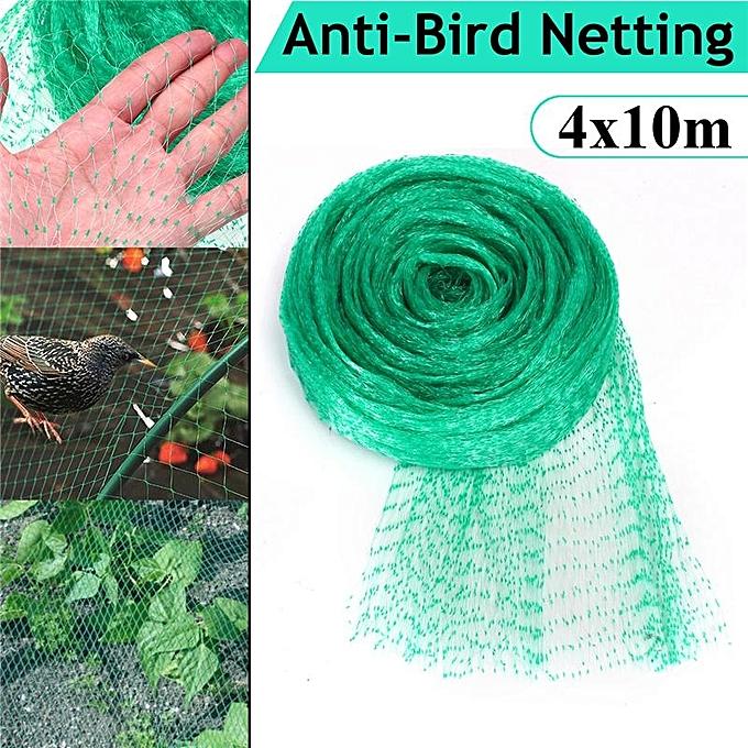 UNIVERSAL 4x10m Anti-Bird Poultry Net Garden Pond Plants Veg Fruit Prougeection Netting Mesh à prix pas cher