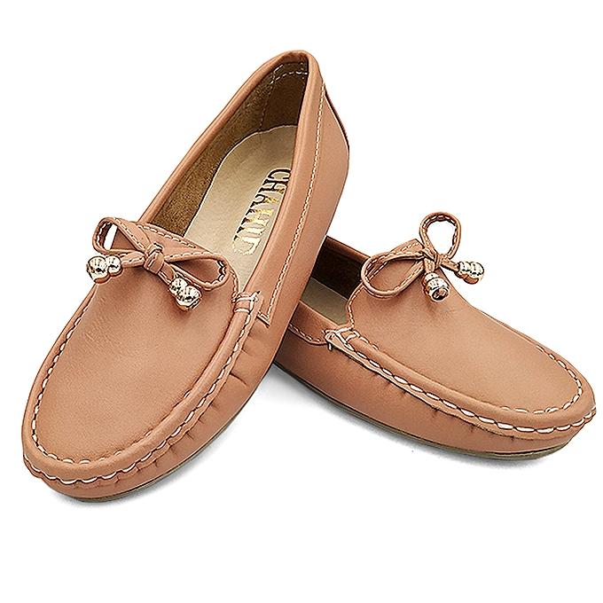 Pour Chaussures Femmes Médical Mocassin Saumon QdexoWrCB