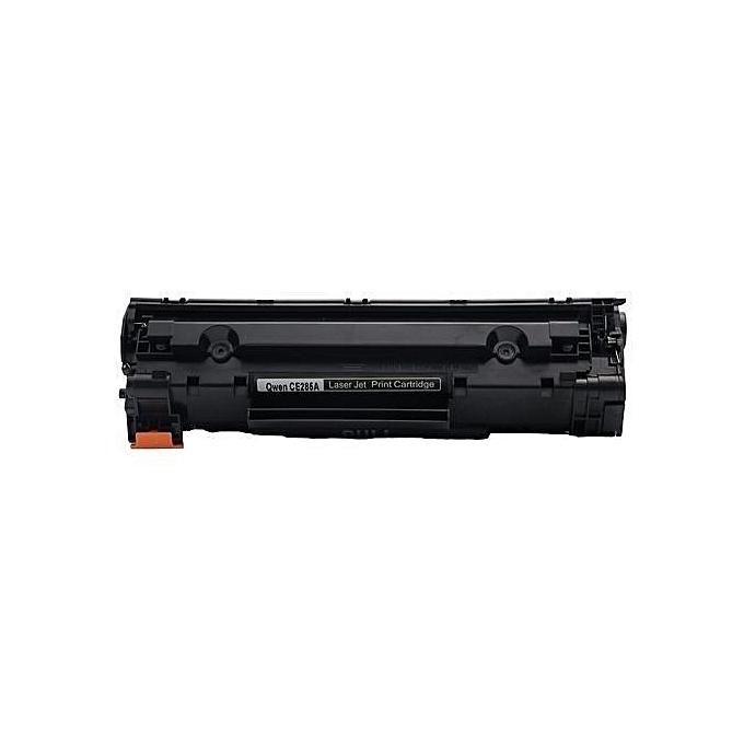Generic Pack 2 TONER CB435 35A pour HP Laserjet Pro P1102 P1102W- noir à prix pas cher
