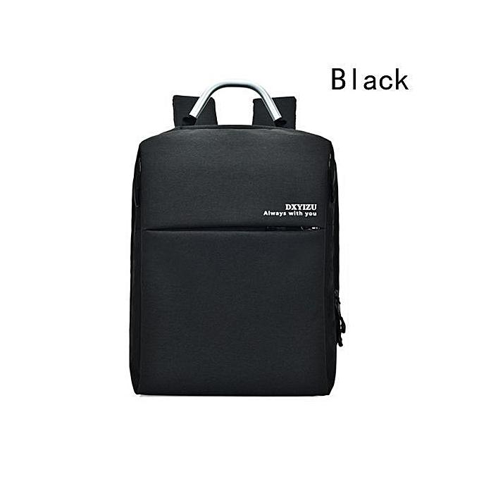 mode Unisex sac à dos Décontracté mode Laptop Anti-theft Notebook School sac With Double USB Port Affaires sac à dos à prix pas cher
