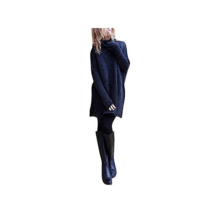 mode Xiuxingzi_femmes Loose manche longue Fall Winter OverTaille chandail Jumper Shirt hauts NY XL à prix pas cher