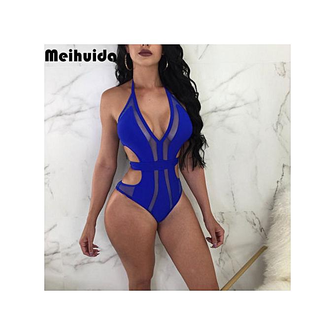Autre femmes Hollow Push Up Padded Bra Bikini Swimwear Swimsuit Beachwear Bathing Suit à prix pas cher