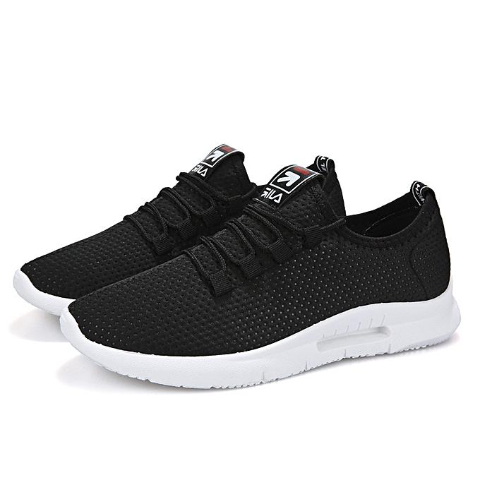 Fashion Casual running chaussures hommes breathable chaussures noir à prix pas cher    Jumia Maroc