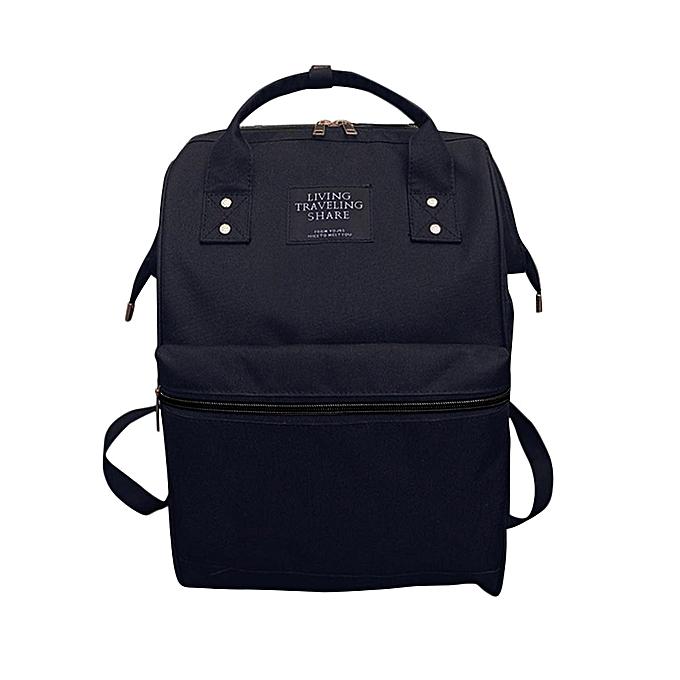 mode Tcetoctre mode femmes sac à doss Female Denim School sac For Teenagers Girls voyage sac-noir à prix pas cher