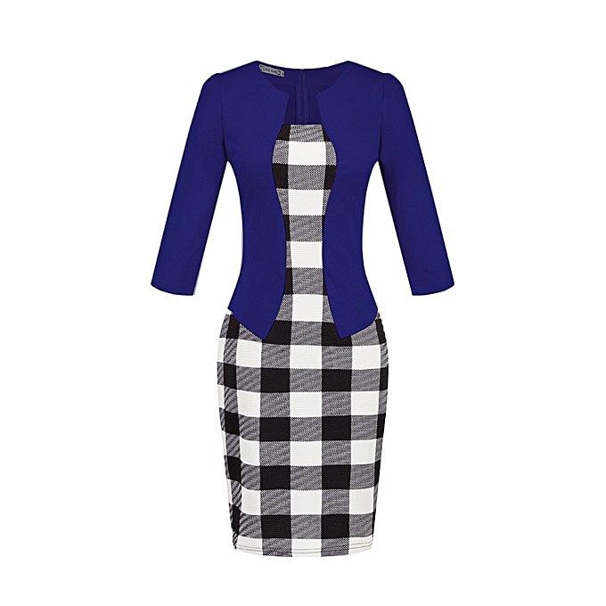 OEM Refined femmes& 039;s professional sac hip pencil mode comfortable Robe-6 à prix pas cher