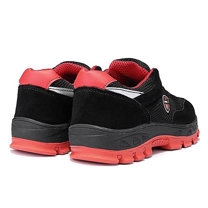Fashion  's Work Mesh Sneakers Steel Steel Steel Toe Midsole Anti-Slip Trainers Hiking Shoes-EU à prix pas cher  | Jumia Maroc 605fc5